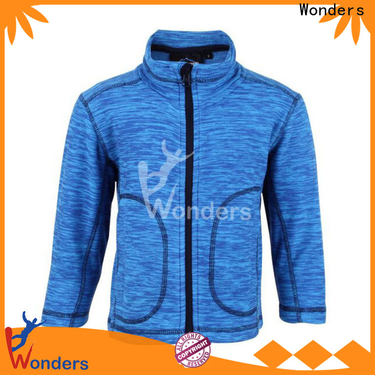 Wonders zip up fleece jacket series for outdoor