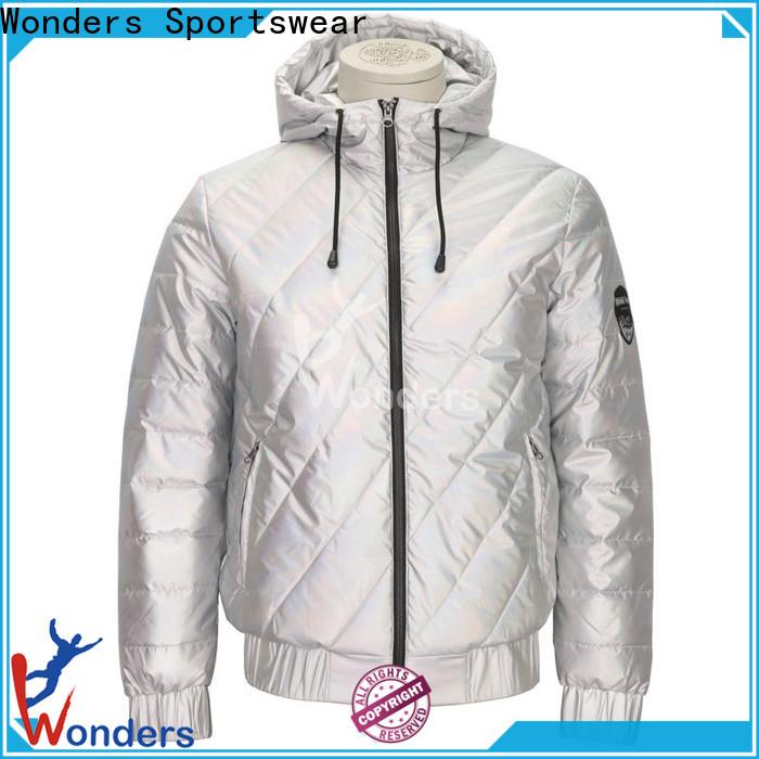 Wonders hot-sale padded hooded jacket suppliers for winte