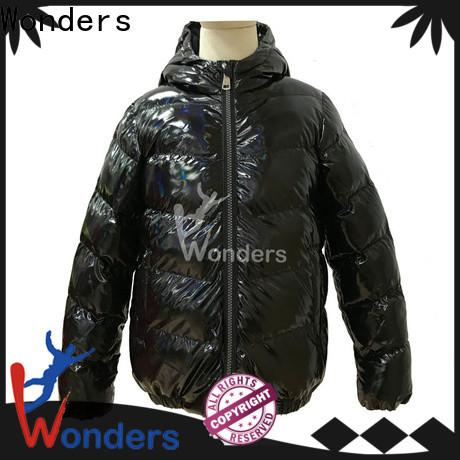 Wonders worldwide padded hooded jacket best supplier for winte