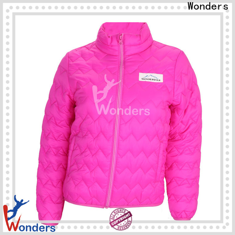 Wonders padded coats and jackets factory to keep warming