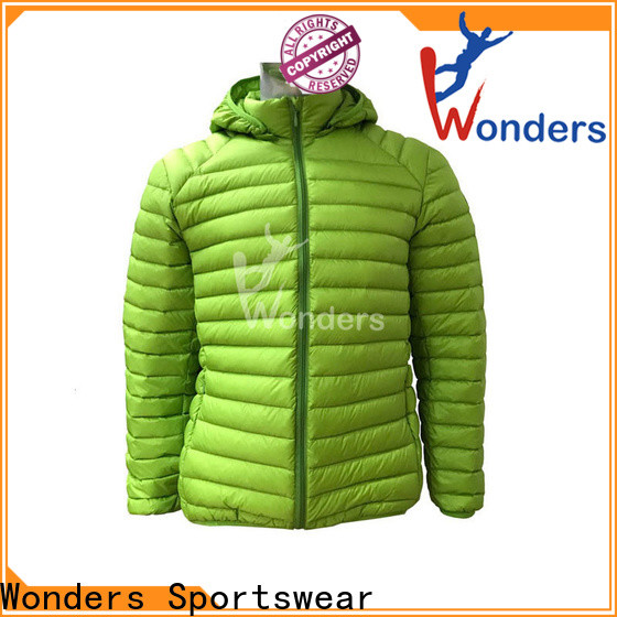 Wonders quality slim fit down jacket for business bulk buy