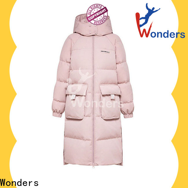 Wonders best price ladies down parka supply bulk buy