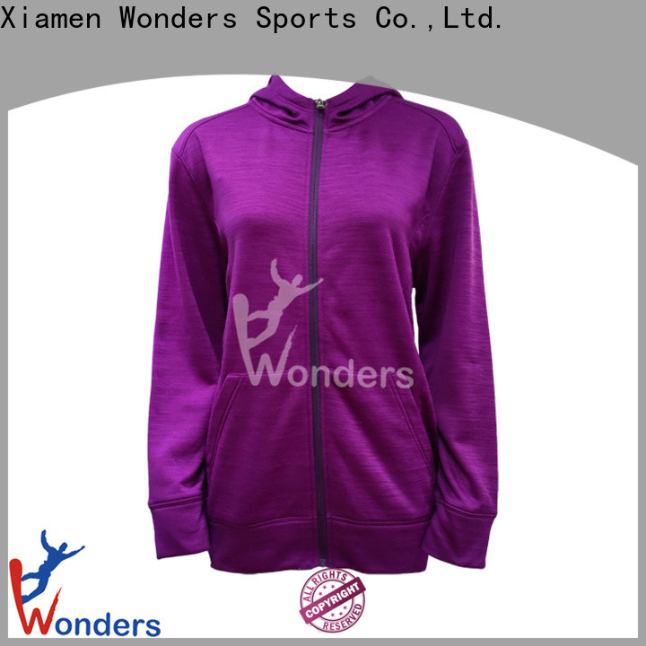 best full zip up hoodie supplier for sports