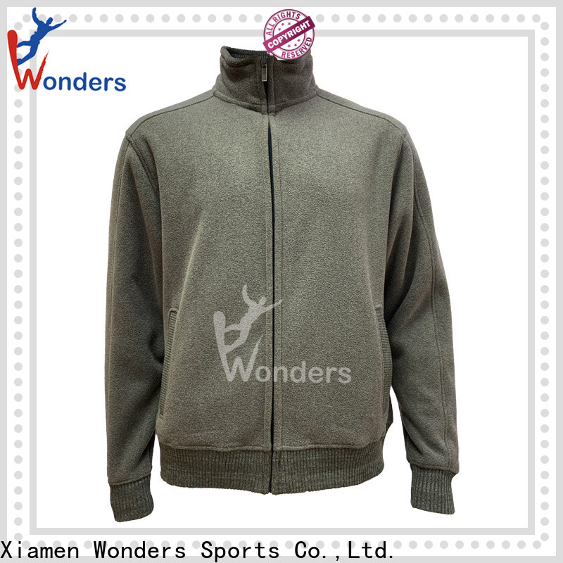 Wonders top selling warm fleece jacket best manufacturer for outdoor