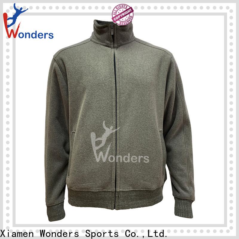 Wonders top selling warm fleece jacket best manufacturer for outdoor