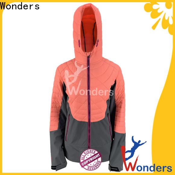 Wonders mens hybrid jacket design for outdoor