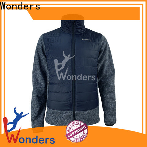 Wonders latest womens hybrid jacket from China for sports