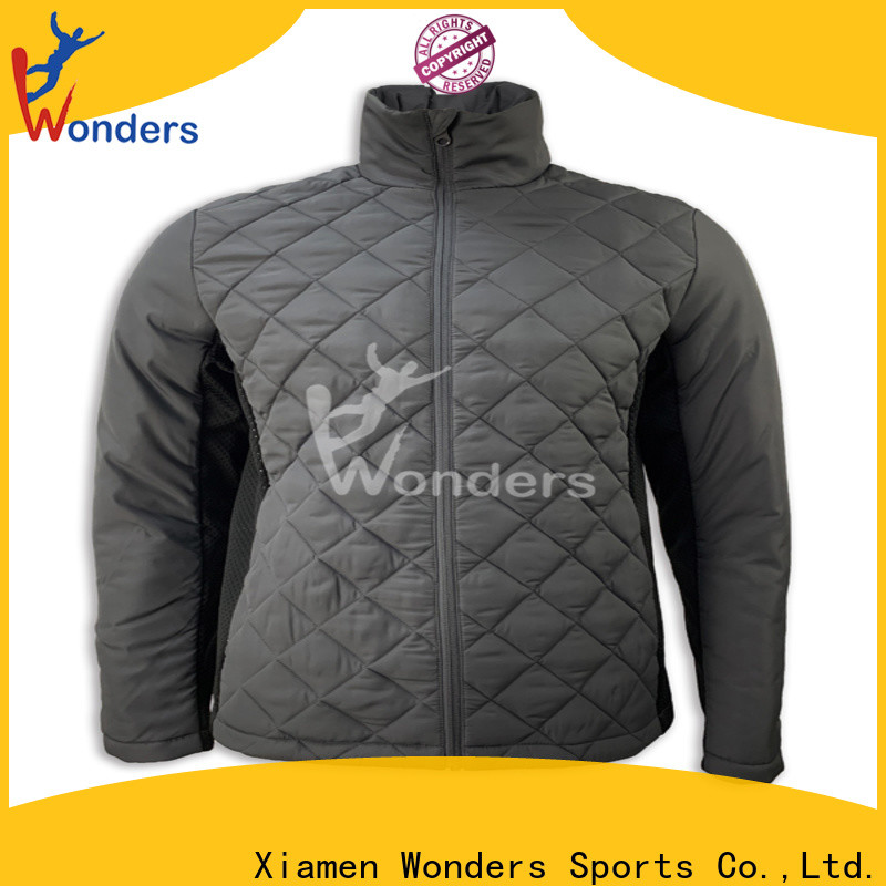 Wonders mens hybrid down jacket best manufacturer for sports