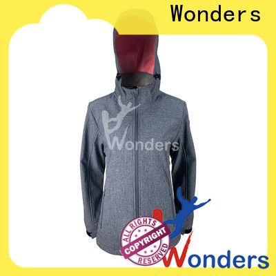 Wonders promotional waterproof softshell jacket best manufacturer bulk production