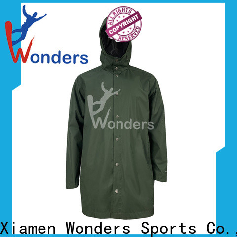 Wonders high quality breathable rain jacket manufacturer for sale