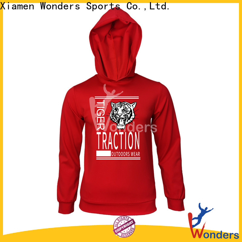 Wonders high quality pullover hoodie company for outdoor