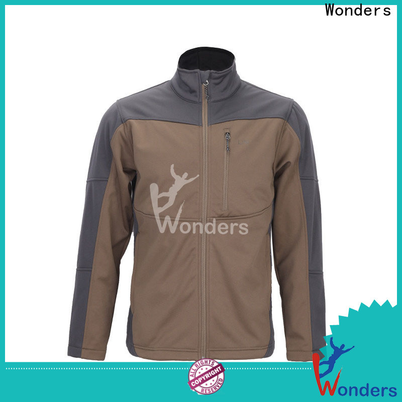 Wonders waterproof softshell jacket personalized bulk buy