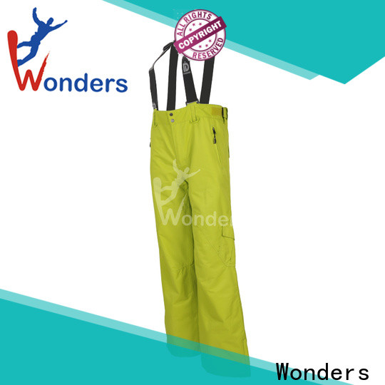 hot selling fitted ski pants with good price for sports