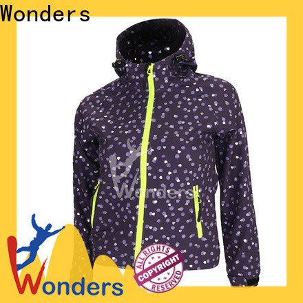 Wonders top insulated softshell jacket personalized to keep warming