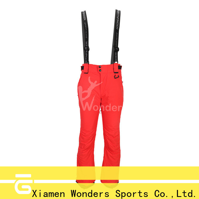 Wonders top mens long ski pants best supplier for sports