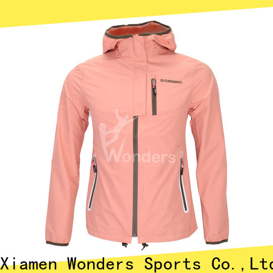quality breathable rain jacket design for promotion