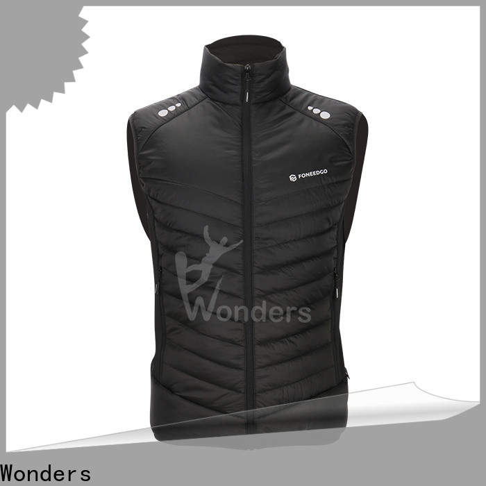 promotional puffer vest fashion supplier for sports