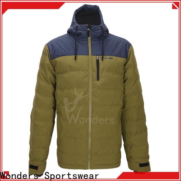 Wonders cheap mens light padded jacket supply to keep warming