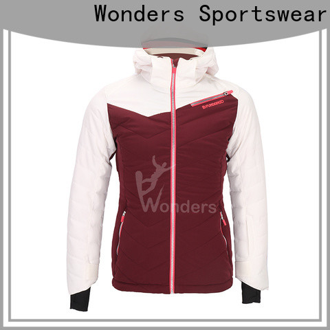 Wonders worldwide waterproof ski jacket womens manufacturer to keep warming