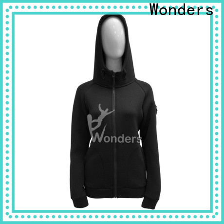 Wonders full zip hoodie manufacturer for outdoor