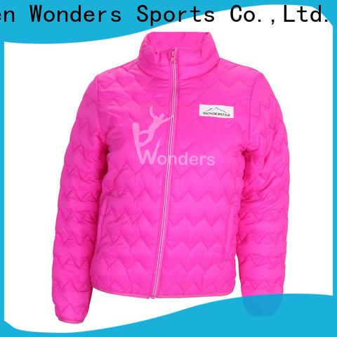 Wonders durable womens padded jacket with hood factory bulk buy