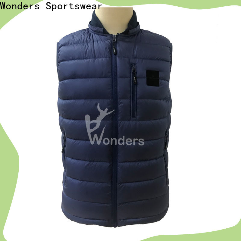 popular cheap puffer vest series for sports