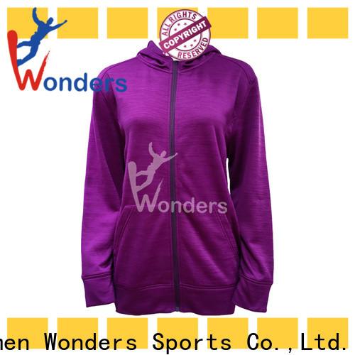 Wonders cotton zip up hoodie best manufacturer for winter