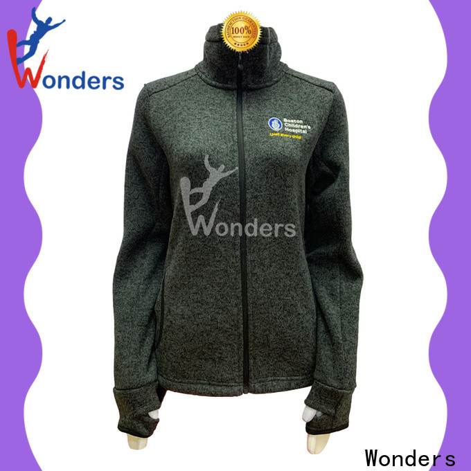 Wonders mens full zip fleece jacket inquire now to keep warming