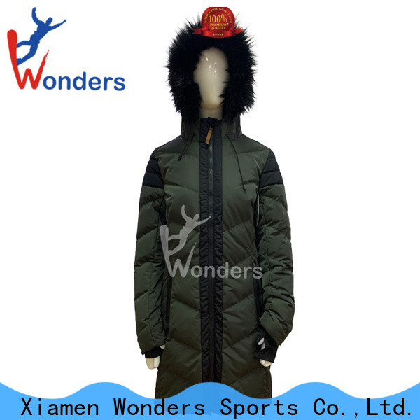 Wonders popular parka jacket long personalized for outdoor