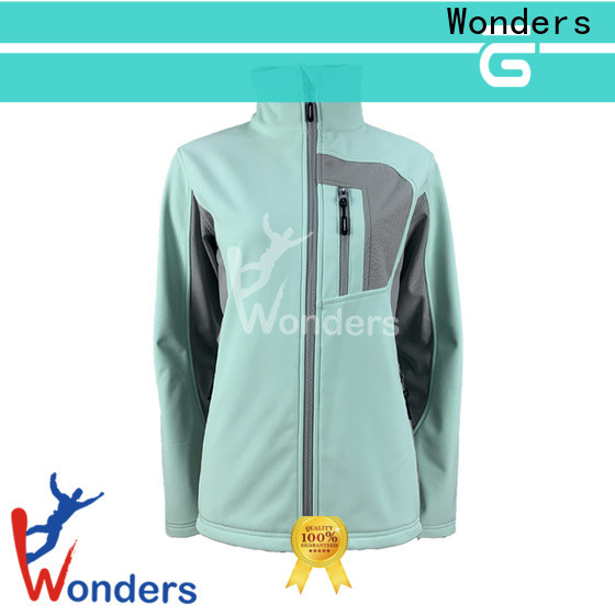 Wonders top girls softshell jacket company for promotion