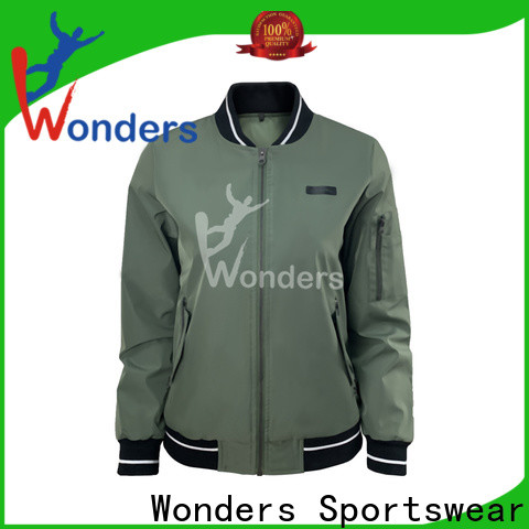 Wonders best fitted casual jackets supplier for sports