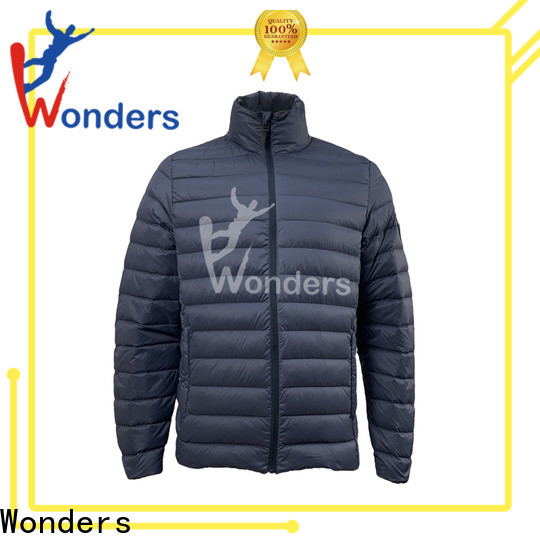 reliable slim fit down jacket manufacturer for sale