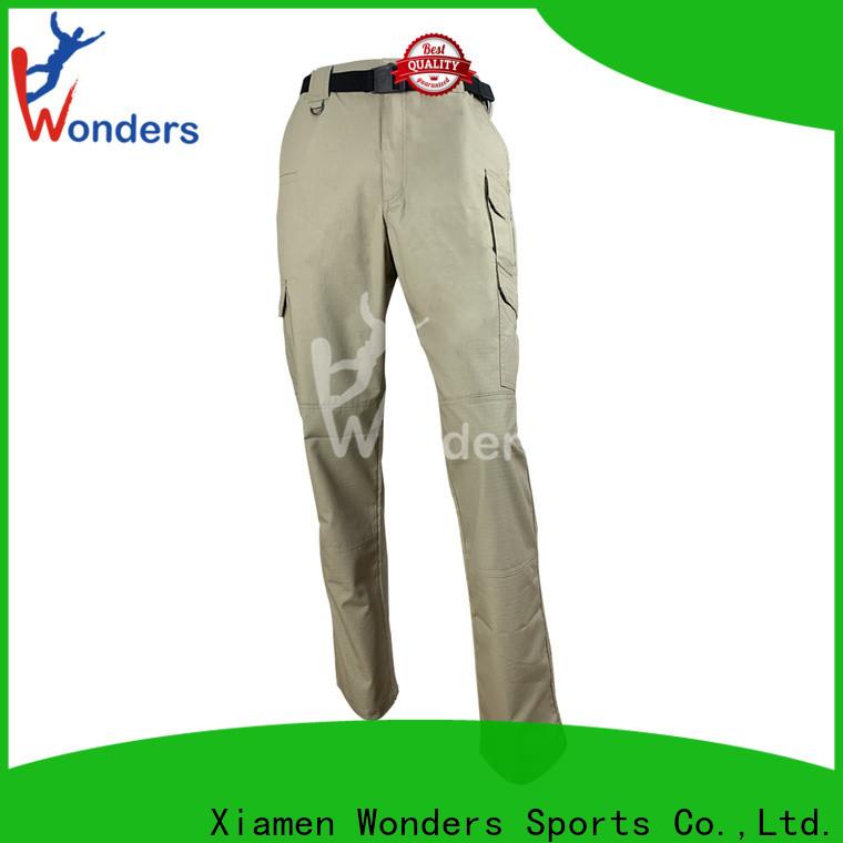 top slim fit hiking pants factory bulk production