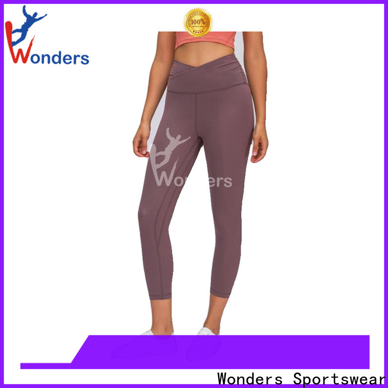 hot-sale high waisted sports leggings personalized bulk production
