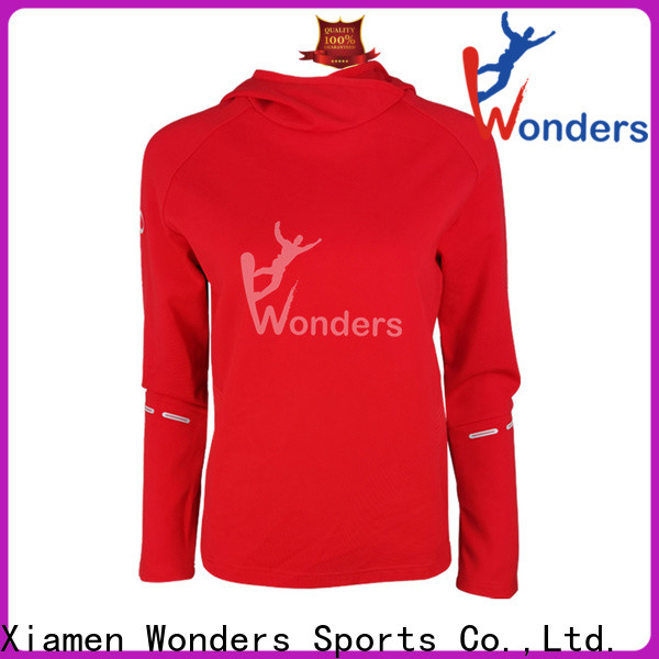 Wonders promotional men's cotton pullover hoodie manufacturer for outdoor