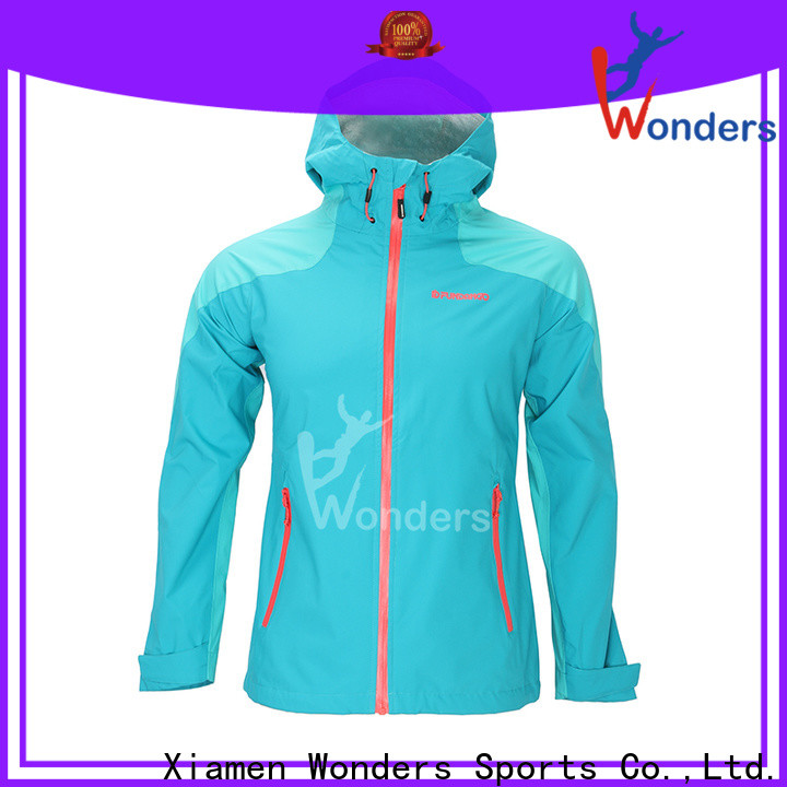 Wonders factory price running rain jacket inquire now for sale