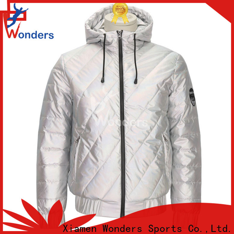 Wonders womens fitted padded jacket supplier bulk production