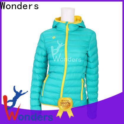 Wonders hot selling mens brown padded jacket best manufacturer for promotion