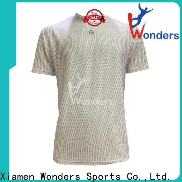 Wonders running t shirt mens company bulk production