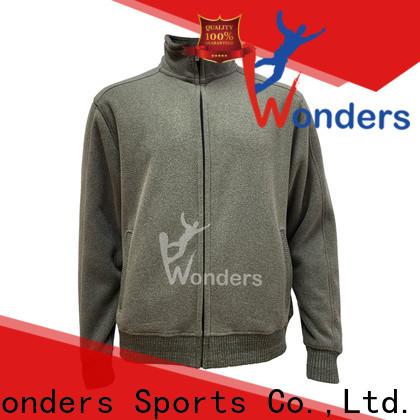 Wonders worldwide hooded fleece jacket design for winter