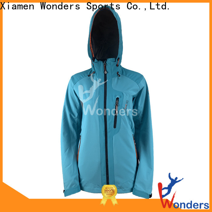 Wonders men's soft shell winter jackets supply bulk production