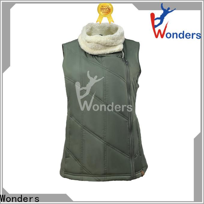 Wonders cheap puffer vest design for sale