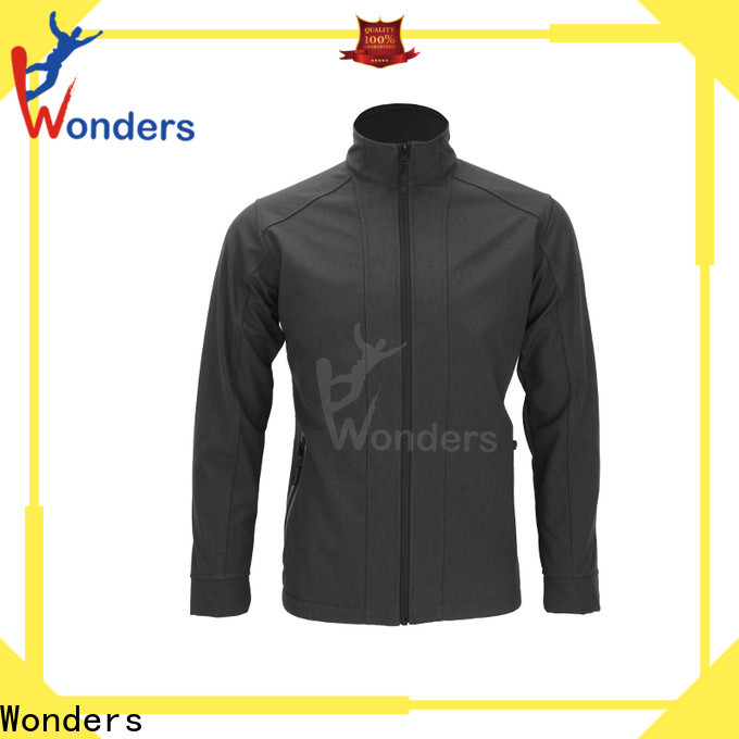 Wonders men's soft shell winter jackets from China to keep warming