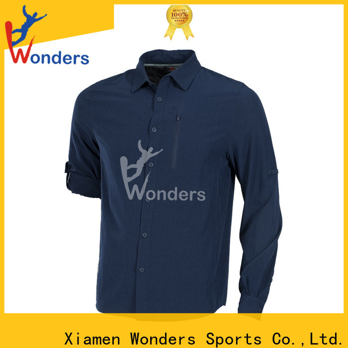Wonders latest mens fashion casual shirts factory for outdoor