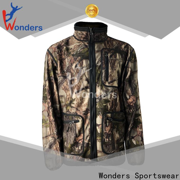Wonders waterproof hunting jacket best manufacturer bulk production