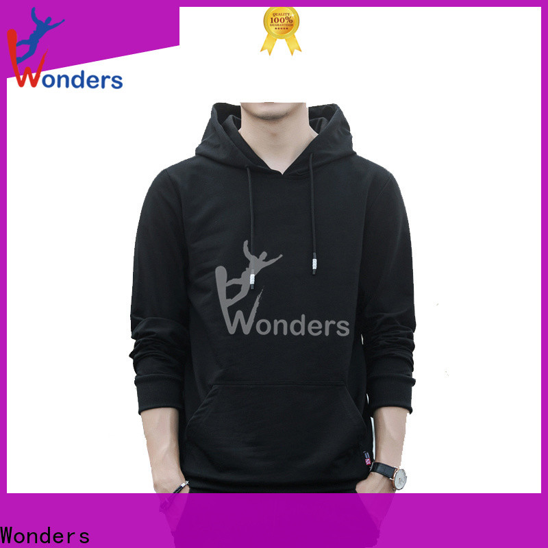 Wonders top quality custom pullover hoodies suppliers for promotion