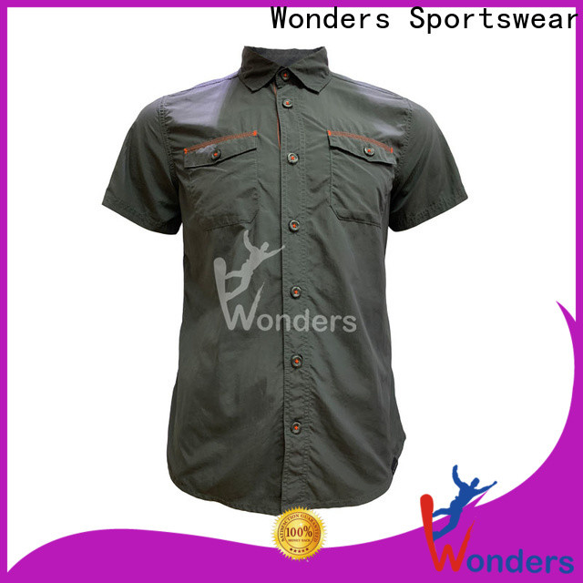 Wonders durable trending casual shirts for business bulk production