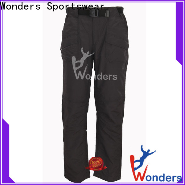 Wonders women's convertible hiking pants factory direct supply for sale