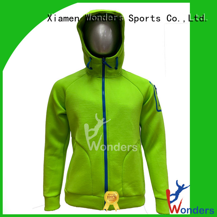 factory price warm zip up hoodie supply for winte