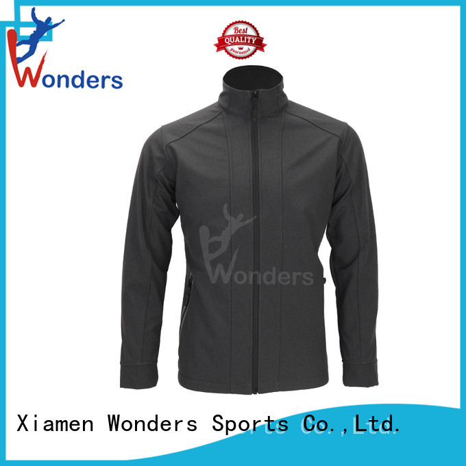 Wonders promotional waterproof soft shell jacket personalized for sale